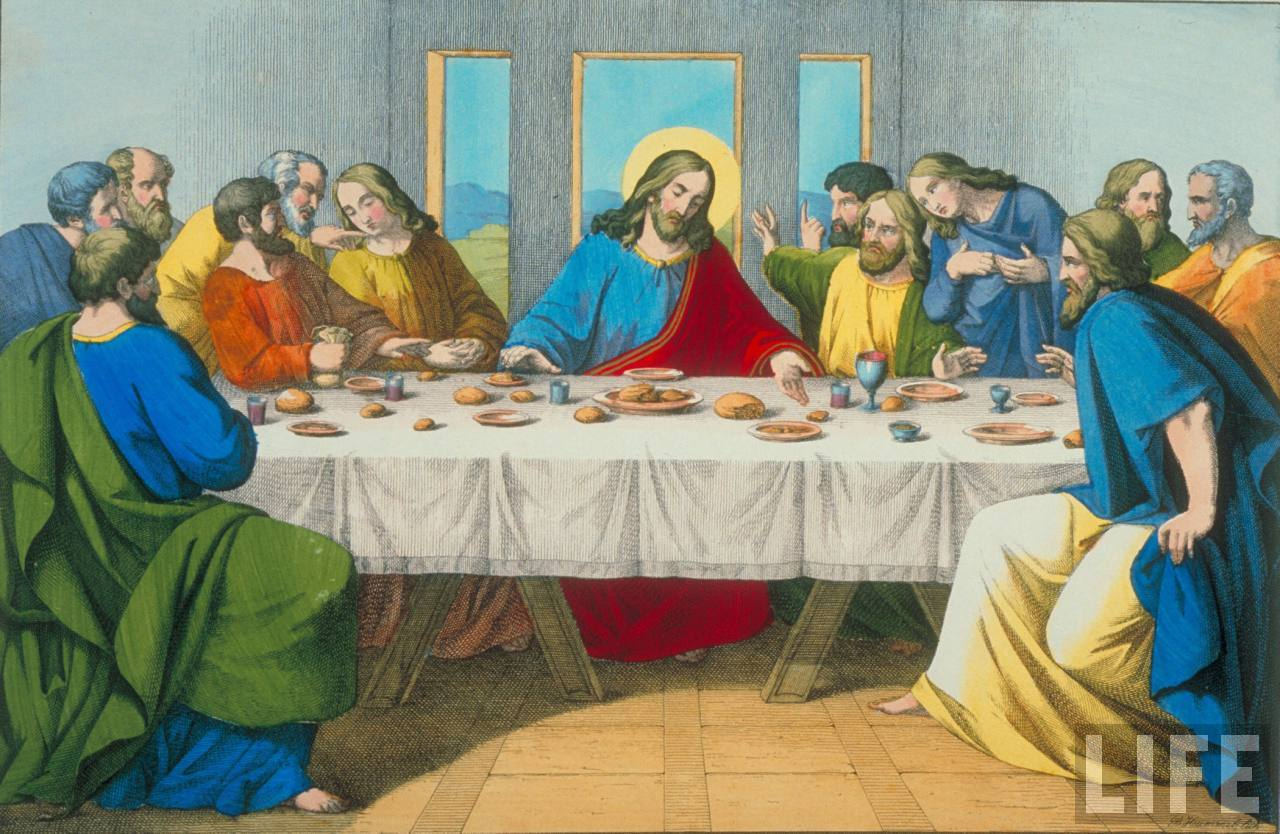 Pics of The Last Supper.