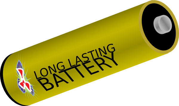 Long Lasting Battery Clip Art at Clker.com.