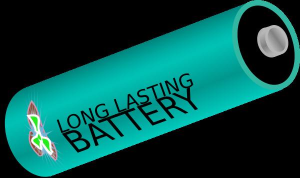 Long Lasting Battery.