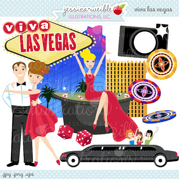 clipart of las vegas #15