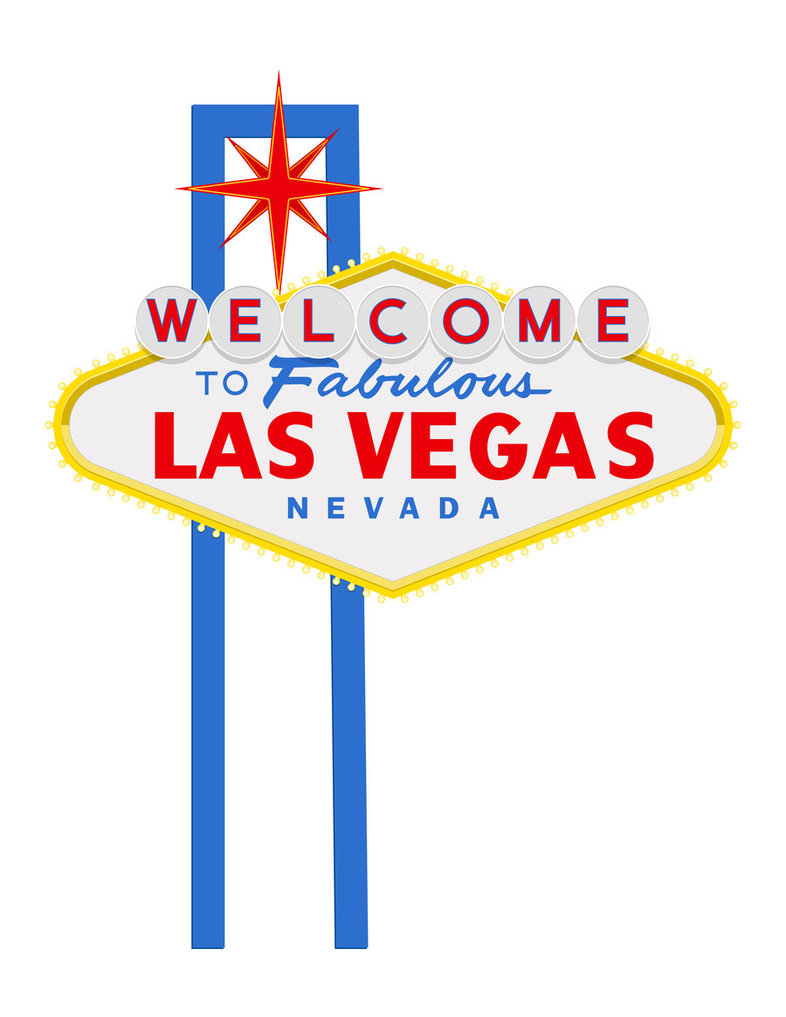 Las Vegas Sign Clip Art.