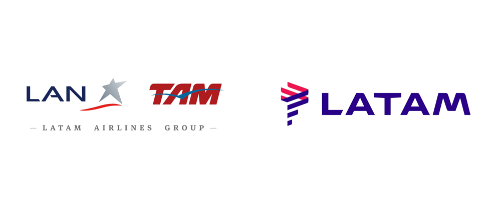 Brand New: New Logo for LATAM by Interbrand.