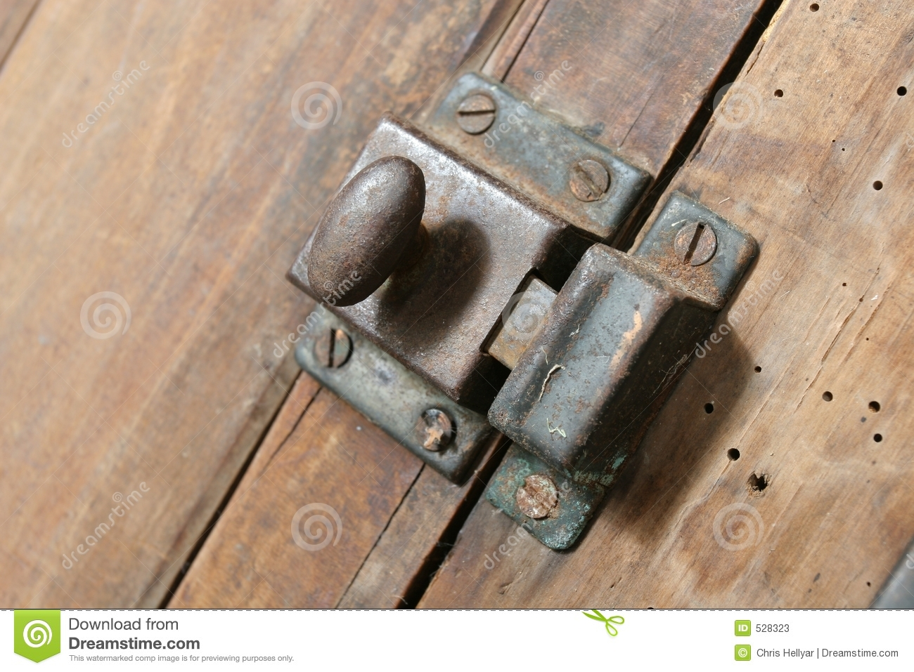 Cupboard Latch Stock Photos.