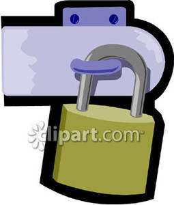 Latch clipart.
