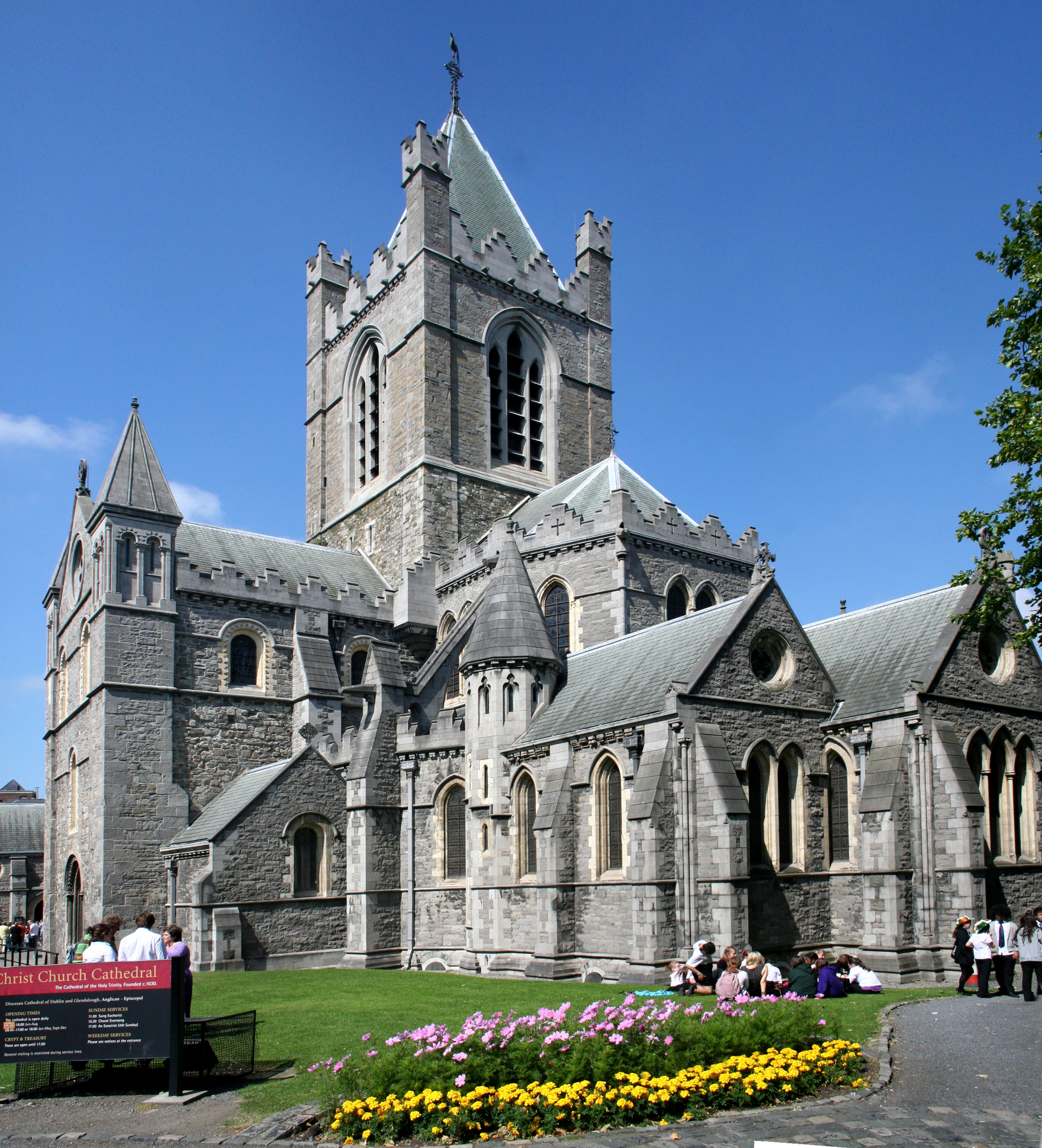 Christ Church Cathedral, Dublin.
