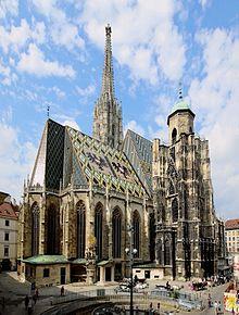 St. Stephen's Cathedral, Vienna.