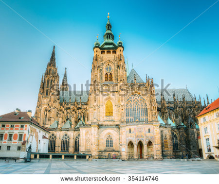 Cathedral Stock Images, Royalty.
