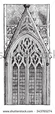 Gothic Architecture Stock Photos, Royalty.