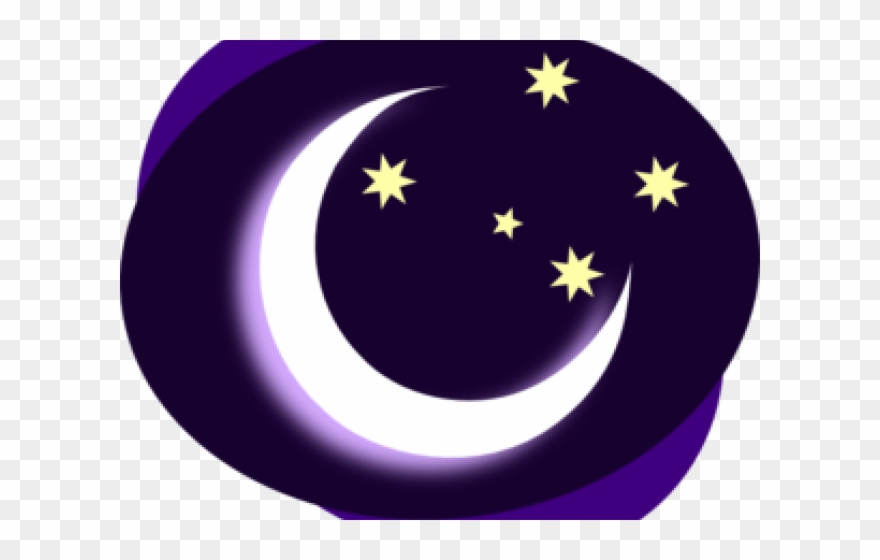 Moon Clipart Night Time.