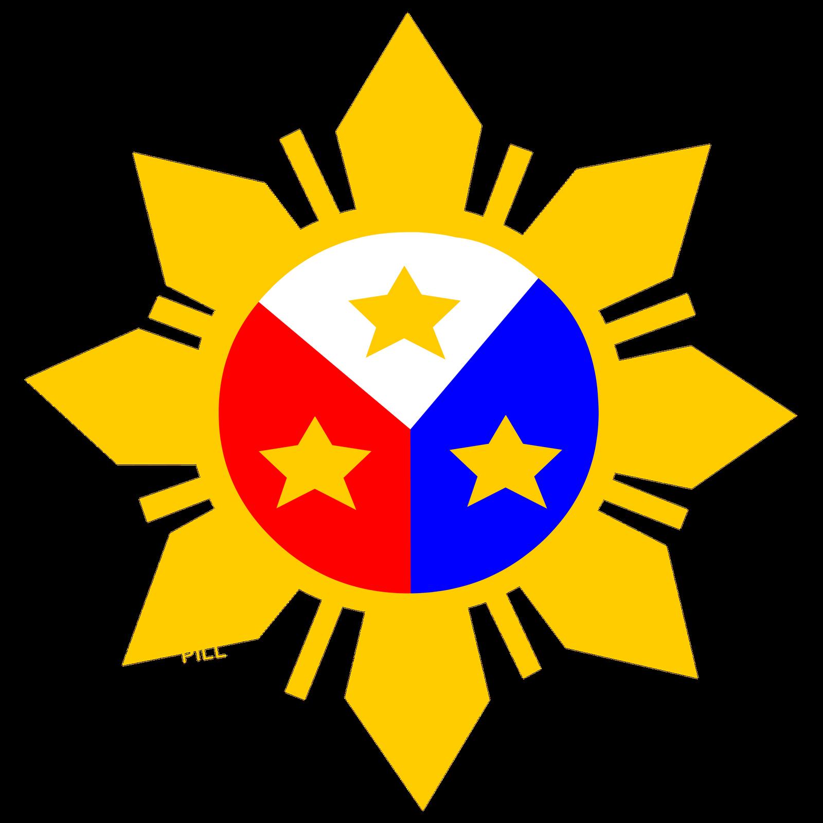 Philippines Flag Sun.