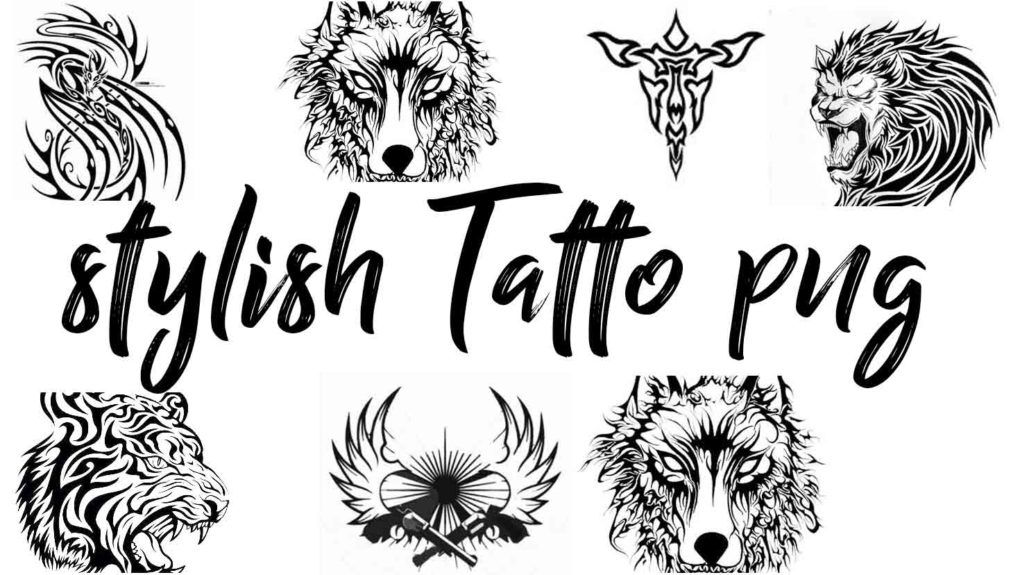 stylish tatto png download.