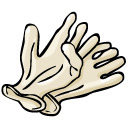 Latex Gloves Clipart.