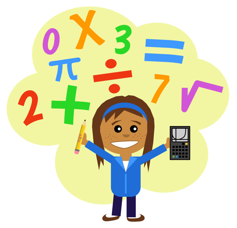 Free Math For Teachers Clipart.