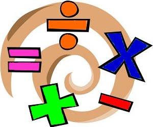 Math Borders Clipart.