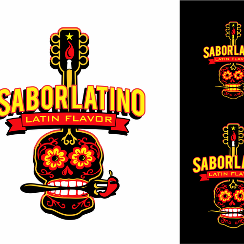 Logo with Latin flavor for music, art, & culture festival.
