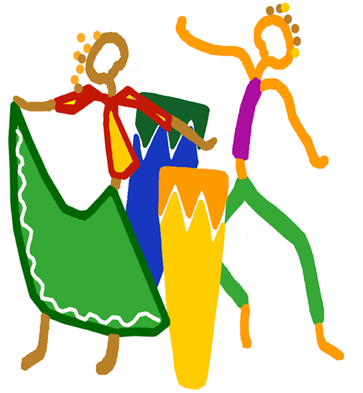 Latin Music Clipart.