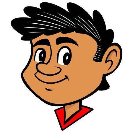 796 Latino Boy Stock Vector Illustration And Royalty Free.