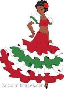 Latino clip art.