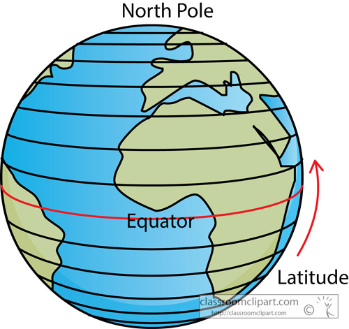 Drawing Lines Of Longitude And Latitude : Latitude clipart clipground