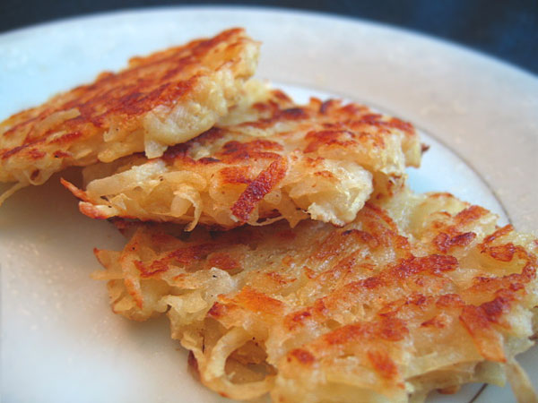 French Fry Diary: Potato Latkes for Hanukkah: Two Different Recipes.