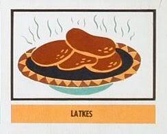 Hanukkah Latkes Clip Art.