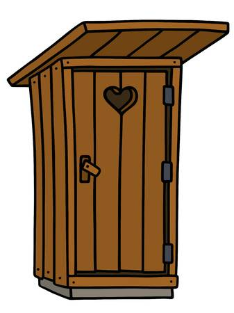 52 Wooden Latrine Stock Illustrations, Cliparts And Royalty.