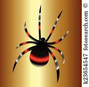 Latrodectus mactans Clip Art Vector Graphics. 9 latrodectus.