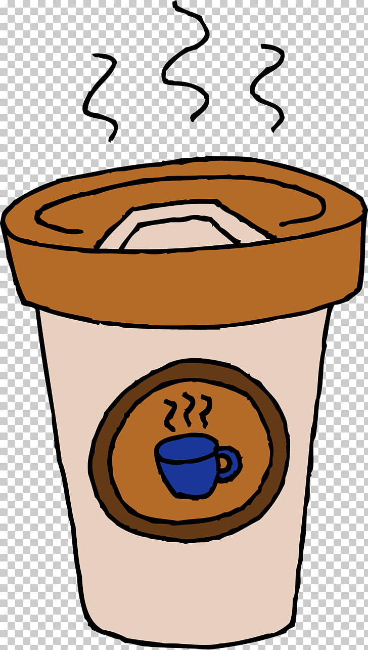 Coffee milk Latte Coffee cup , Free Coffee Cup PNG clipart.