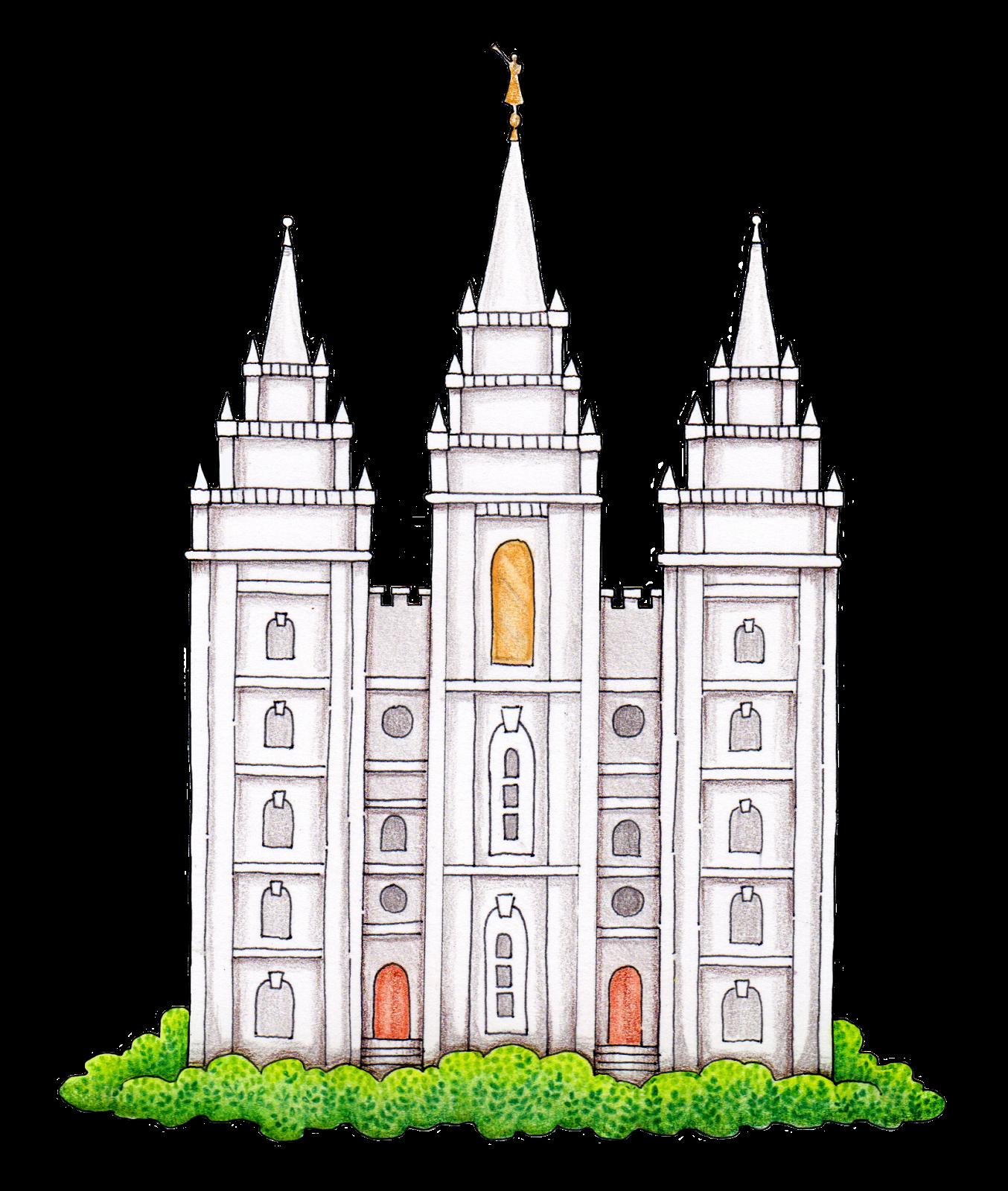 Logan Utah Temple Salt Lake Temple Latter Day Saints Temple.