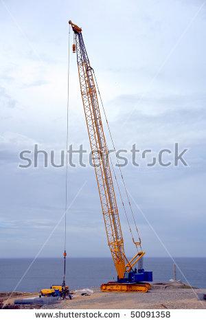 Crawler Crane Stock Photos, Royalty.