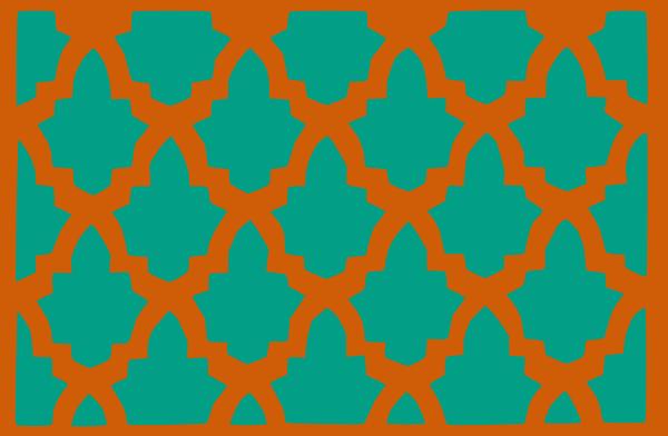 Morroccan Lattice Tile Clip Art at Clker.com.
