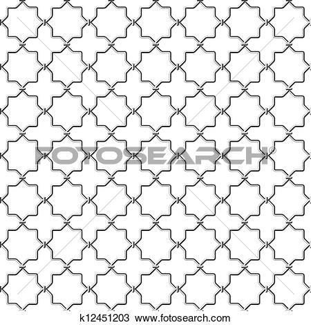 Clipart of Metal lattice k12451203.