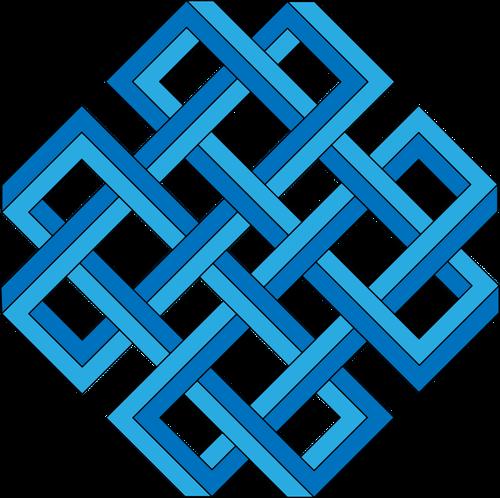 Vector clip art of lattice.