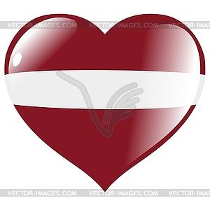 with flag Latvia.