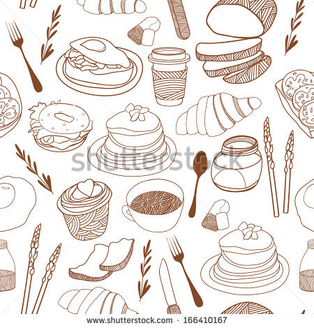 French Croissant Breakfast Stock Photos, Royalty.