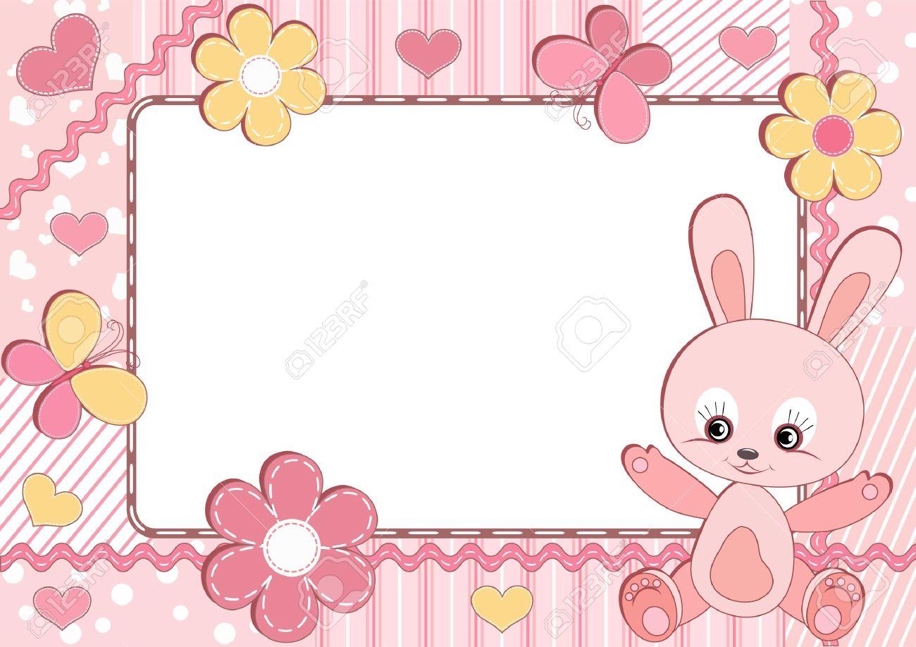 Its A Girl Baby Shower Clip Art