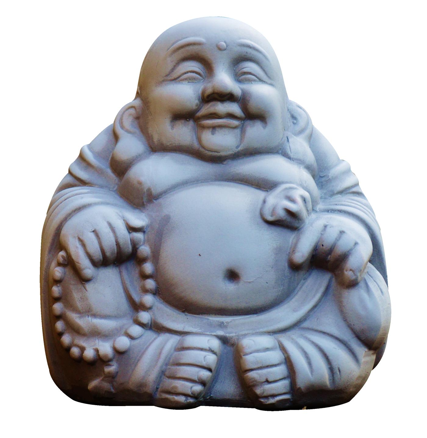 Laughing Buddha Monk PNG Image.