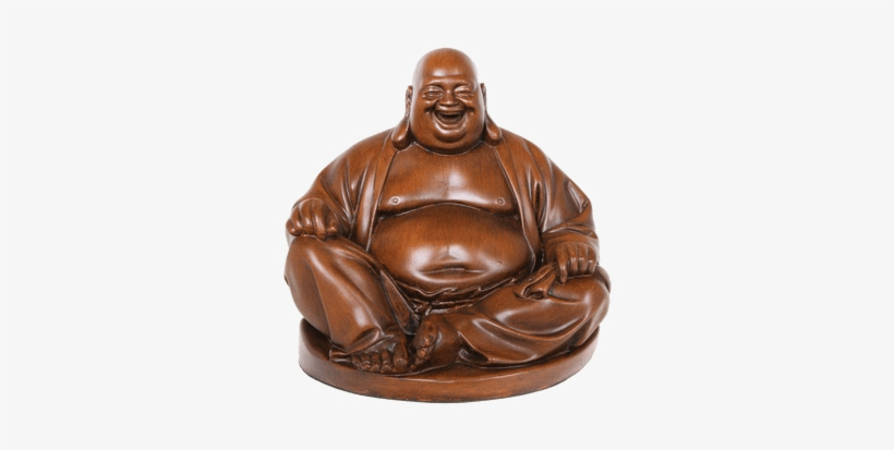 Laughing Buddha Statue Transparent PNG.