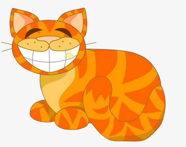 Download Free png Laughing Cat, Cat Clipart, Creative.