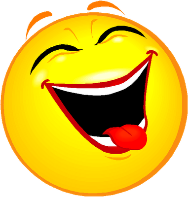 Laughing Smiley Face Clip Art.