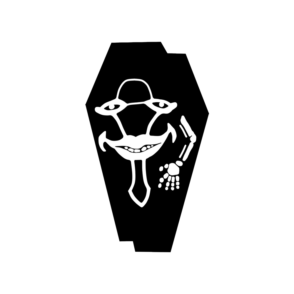 Laughing Coffin LC Avatar White.