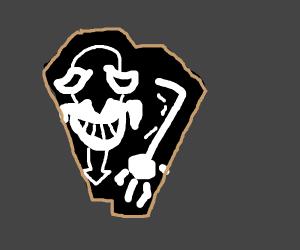 Laughing Coffin logo (Sao).