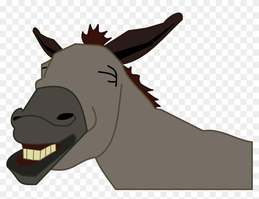 Laughing Donkey Head.