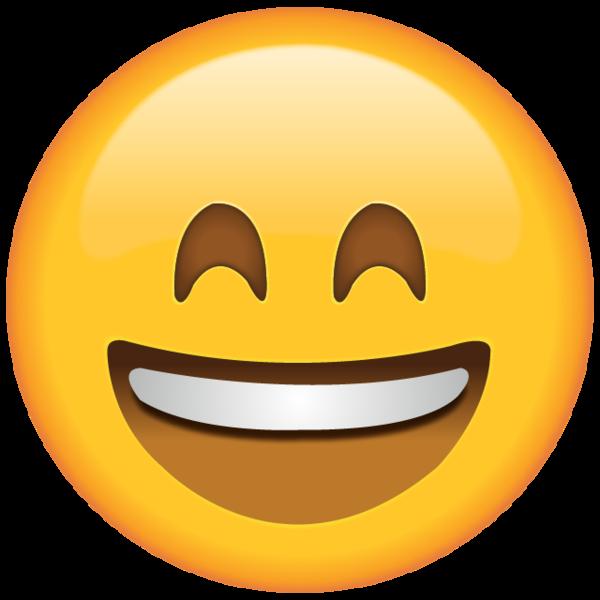 Smiling Emoji with Smiling Eyes.