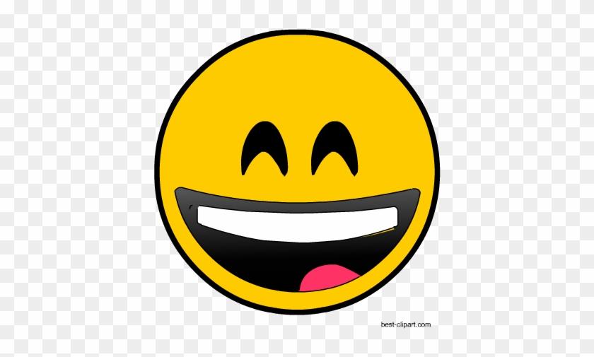 Laughing Emoji, Free Clip Art.