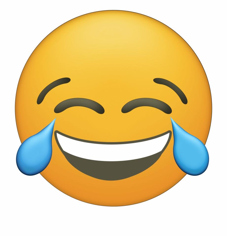 Printable Laughing Emoji.
