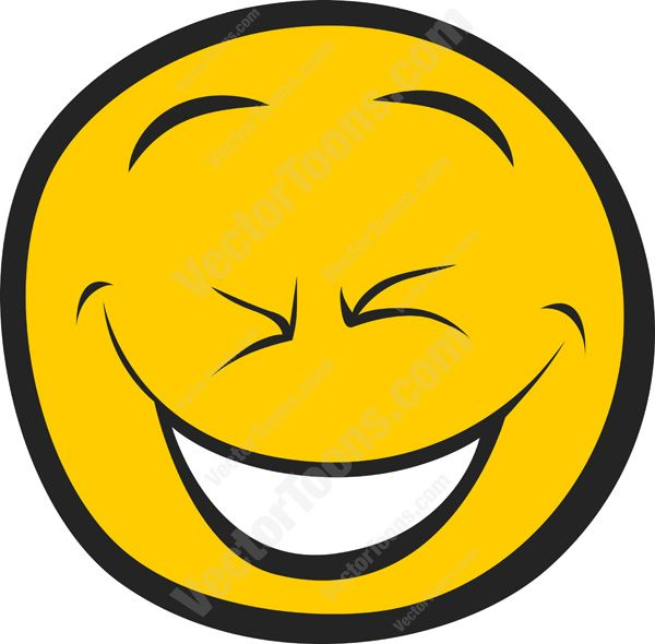 Laughing Smiley Face Clip Art N50 free image.