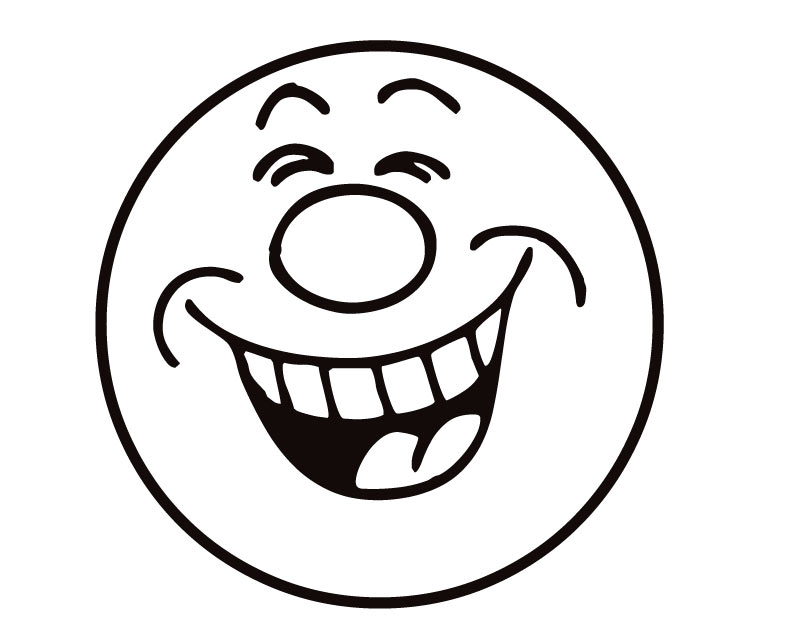 Laughing Face Clip Art.