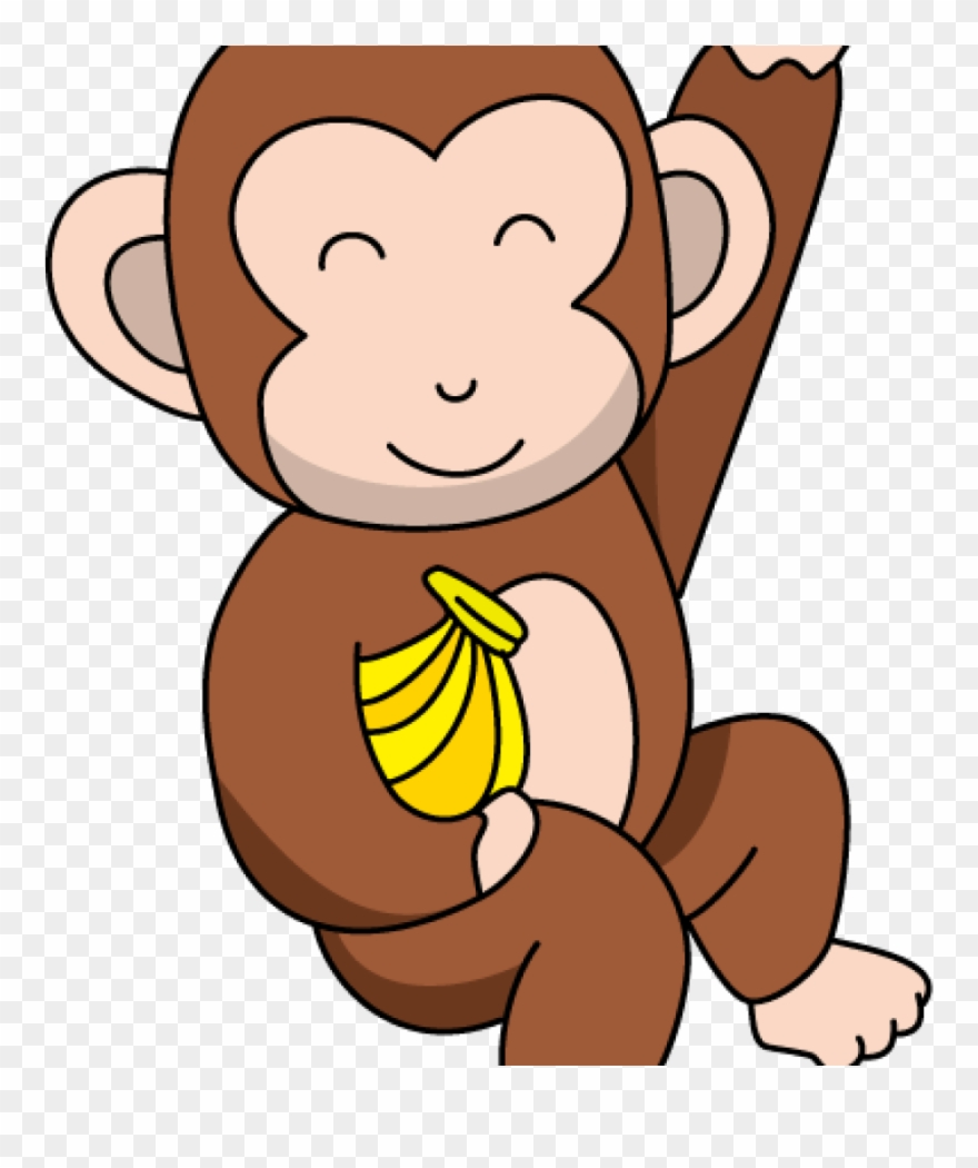 Cute Monkey Clipart Funny Monkey Clipart At Getdrawings.