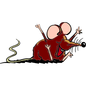 Mouse Laughing clipart, cliparts of Mouse Laughing free.